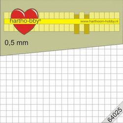 Hartho-bby foampads wit 0,5 mm dik 64025 (Locatie: 5R)