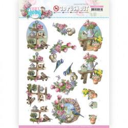 Amy Design stansvel Spring Decorations SB10541 (Locatie: 0351)