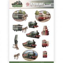 Amy Design stansvel Vintage transport trein SB10576 (Locatie: 4542)