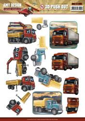 Amy Design stansvel vrachtwagens SB10153 (Locatie: 1580)