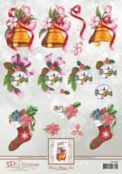 Ann's Paper Art knipvel kerst APA3D004 (Locatie: 5551)