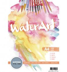 Aquarelpapier 12 vellen A4 300 grs. 1070
