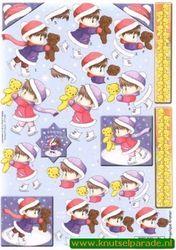 Card Deco knipvel winter CD10087 (Locatie: 5738)