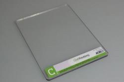 CraftEmotions C plaat 5mm voor Cuttlebug stansmachine 115639/6998 (Locatie: K1)