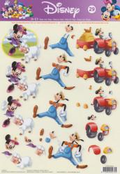Disney knipvel STAPDIS29 (Locatie: 0532)