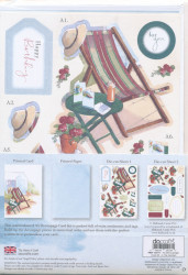 Docrafts A5 Decoupage Card Kit In the garden PMA166111 (Locatie: 2221)