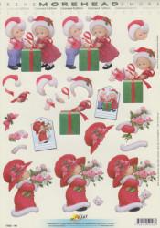 Doe Maar knipvel kerst 11052-148 (Locatie: 4238)