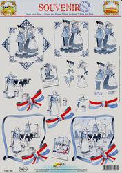 Doe Maar knipvel oud hollands 11053-508 (Locatie: 2871)