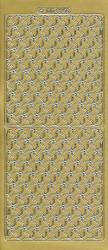 Doodey stickervel goud mozaïek DD6859 (Locatie: e108)