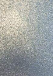 Foam Rubber A4 2mm 20x30cm glitter zilver (Locatie: S1)