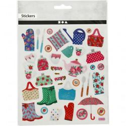 Glitter stickers, vel 15x16,5 cm, 27188 (Locatie: 0406)