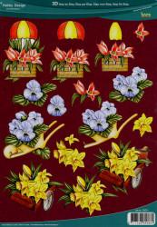 Hobby Design knipvel bloemen 73071 (Locatie: 2832)