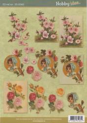 Hobby Idee knipvel bloemen HI-0045 (Locatie: 5704)