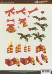 Hobby Idee knipvel kerst HI 0033 (Locatie: 0927)
