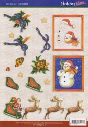 Hobby Idee knipvel kerst HI0023 (Locatie: 0137)