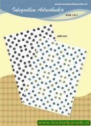 Inlegvellen adresboekje ADB 1611 (Locatie: D30 )