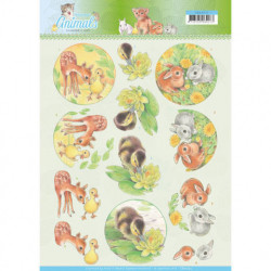 Jeanine's Art knipvel dieren CD11272 (Locatie: 4342)