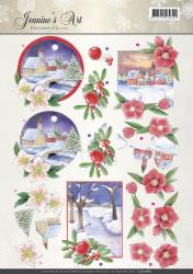 Jeanine's Art knipvel kerstmis CD10887 (Locatie: 2448)