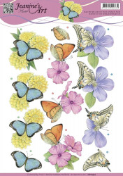 Jeanine's Art knipvel vlinder CD10932 (Locatie: 4302)