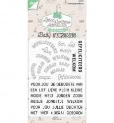 Joy! Clear Stamp Babytekstjes 6410/0514 (Locatie: NN196)