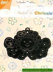 Joy! Crafts snij- en borduurstencil Chrissie 6001/1039 (Locatie: L167 )