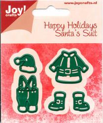 Joy! Crafts snij- en embosmal kleding kerstman 6002/2043 (Locatie: M009)