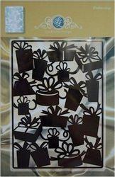 Joy Crafts stencil achtergrond pakketjes 1201/0042 (Locatie: C322 )