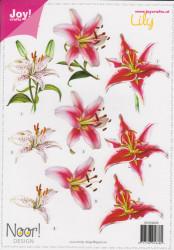 Joy! Noor Design knipvel Lelies 6010/2005* (Locatie: 2764)