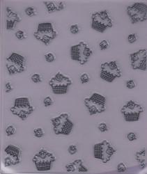 Kars stempel cupcakes 12.5x15 cm 180013/0406 (Locatie: nn037)