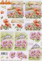 Le Suh 3D Knipvel Bloemen 8215787 (Locatie: 2856)