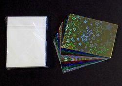 Le Suh kado kaartjes en envelop hologram 20 stuks 690184 (Locatie: S2)