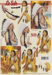 Le Suh knipvel indianen 416975 (Locatie: 2710)