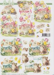 Le Suh knipvel katten 8215528 (Locatie: 6344)
