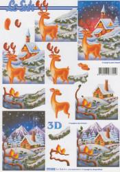 Le Suh knipvel kerstmis 777072 (Locatie: 1435)