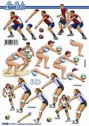 Le Suh knipvel sport handbal 777504 (Locatie: 5952)