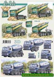 Le Suh knipvel vrachtwagens 8215 335 (Locatie: 6321)