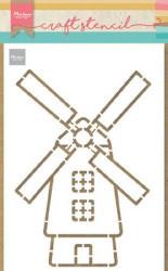 Marianne D Craft Stencil Molen PS8058 (Locatie: 1141)