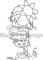 Marianne Design Clear stamps sweet Daisy DDS3306 (Locatie: U365 )