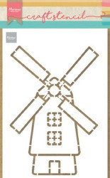 Marianne Design Craft Stencil Molen PS8058 (Locatie: 1141)