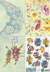 Marianne Design handmade bloemen IT549 (Locatie: 0510)