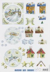 Marianne Design knipvel winter IT443 (Locatie: 2367)