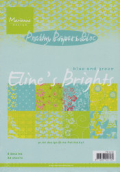 Marianne Design Pretty Paper Bloc Eline's Brights PB7018