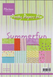 Marianne Design Pretty Papers Bloc Summerfun A5 PK9073