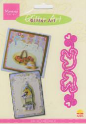 Marianne design, snij- embos- en borduurmal, Glitter Art GA8203 (Locatie: L48)