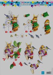 Marianne design twinky knipvel winter SON002 (Locatie: 5801)