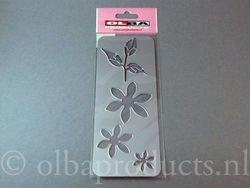 Olba snij- en embosmal bloemen met blaadje OL029 (Locatie: M067)