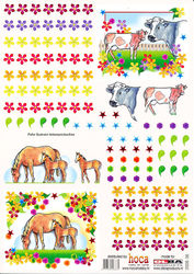 Olba vel dubbel koe/paard 2008-36 (Locatie: 6724)