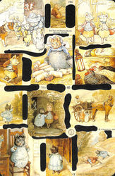 Poezieplaatje The Tale of Pigling Bland van Beatrix Potter MLP1784 (Locatie: MP068)