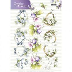Precious Marieke knipvel bloemen CD11081 (Locatie: 1444)