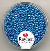 Rayher rocailles 2 mm lichtblauw 17 gr. 1406208 (Locatie: K3)